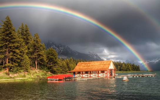 Rainbow in Natural