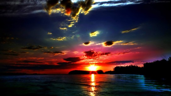 Wonderful Sunset Picture