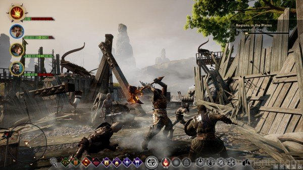 Dragon Age Inquisition Gameplay Screenshot