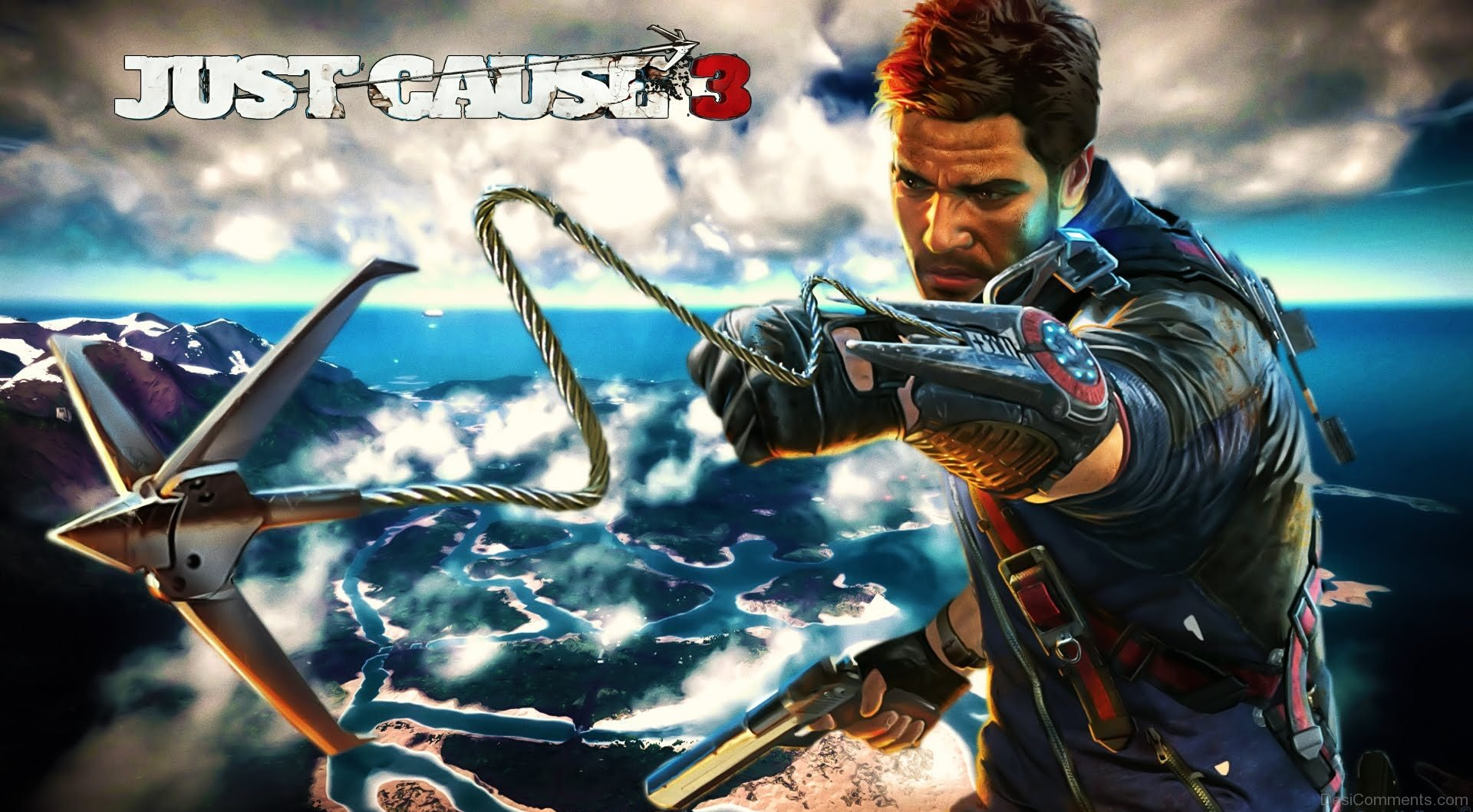 Just Cause 3 Wallpaper: Just Cause 3 Poster