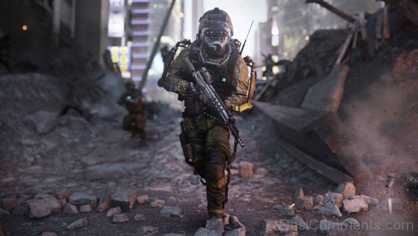 Call Of Duty Advanced Warfare - Induction Vision Mode Active