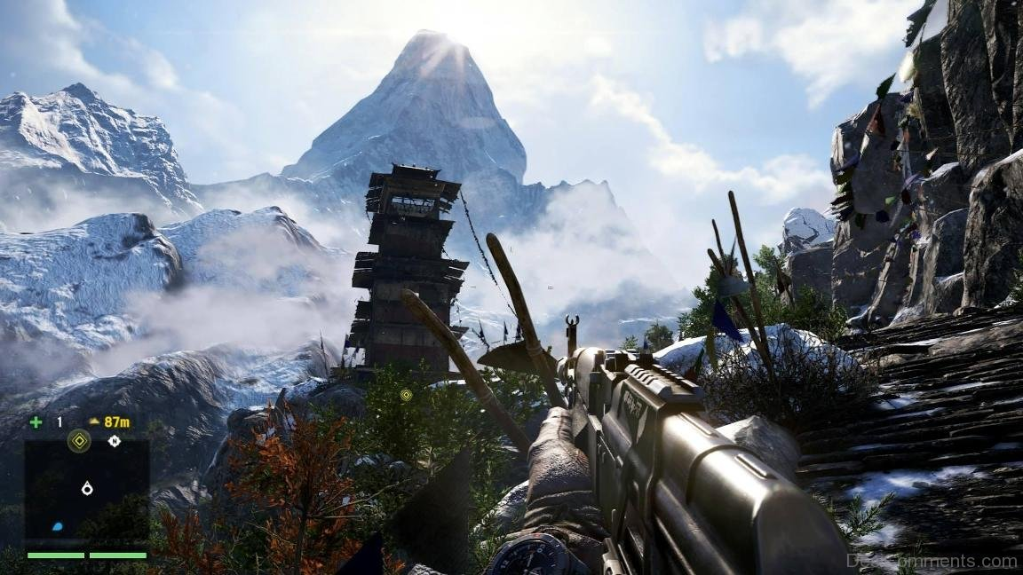 Far Cry 4 Gameplay Picture Wallpapers Desicomments Com