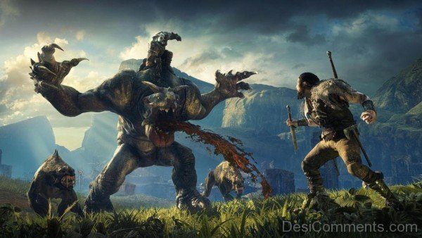 Middle Earth Shadow Of Mordor Lord Of The Hunt Beast Hunter