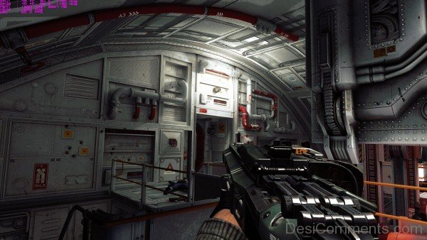 Wolfenstein The New Order - Awesome Gun