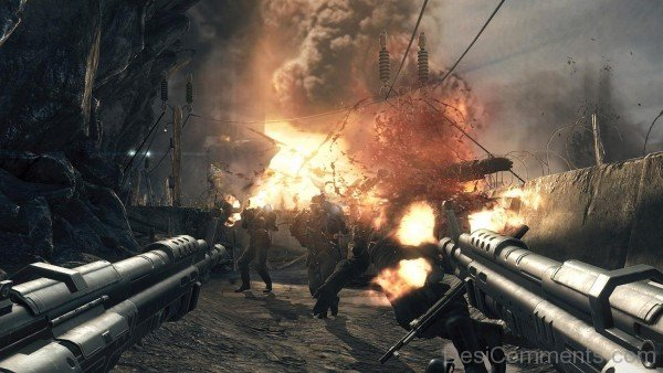 Wolfenstein The New Order Game Gameplay