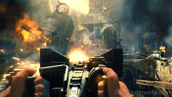 Wolfenstein The New Order Game - Machine Gun