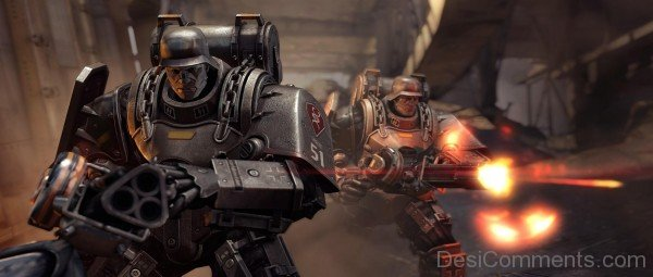 Wolfenstein The New Order Game - Row Army Of Steel