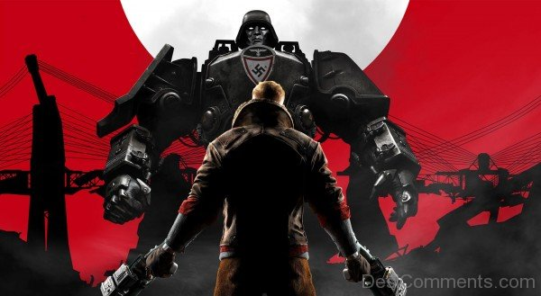 Wolfenstein The New Oder Superb Poster