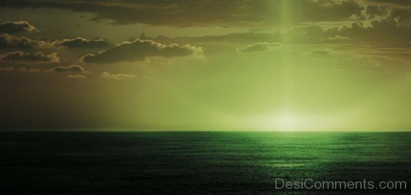 Green flash-DESI1229