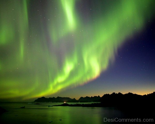 Northern Lights Wallpaper-DESI1208