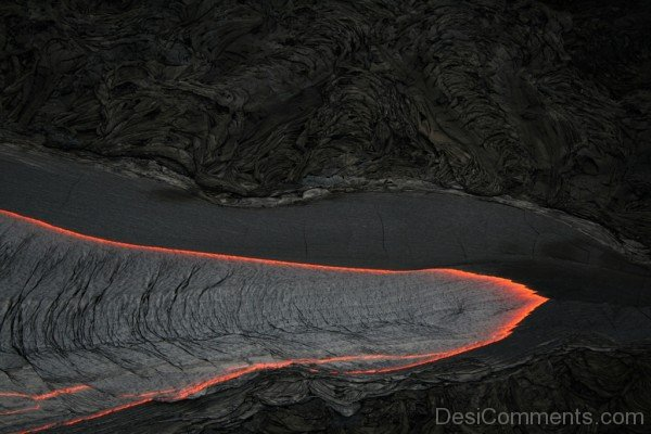 Wallpaper Of Lava Flow-DESI1236