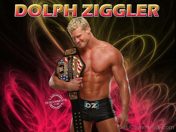 Dolph Ziggler With Heavy Weight Championship Belt