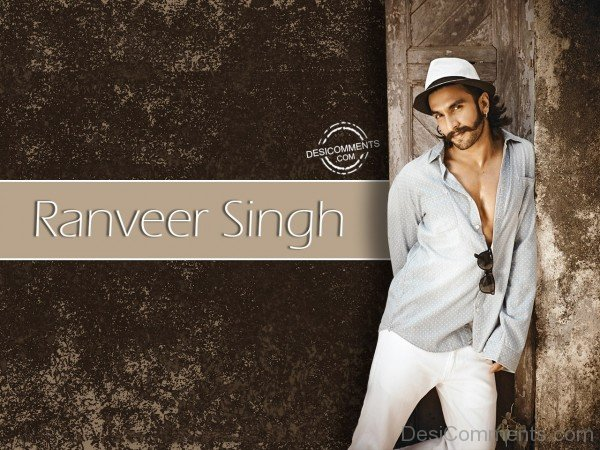 Ranveer Singh Wearing White Hat