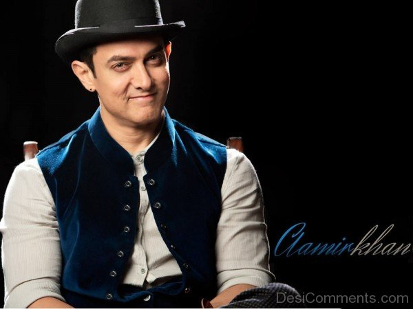Aamir Khan Wearing Hat