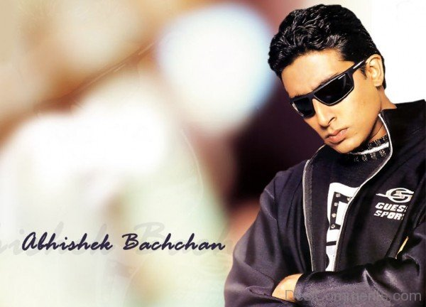 Abhishek Bachchan Wearing Black Jacket-DC06