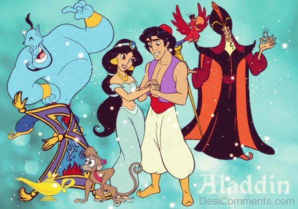 Aladdin And Disney Characters-DC007