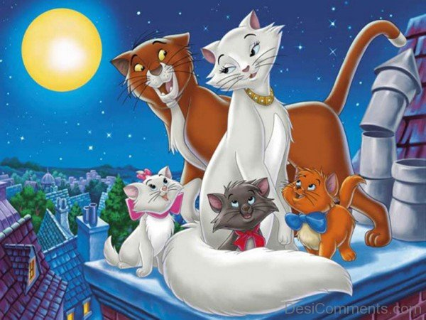Aristocats American cartoons-DC027