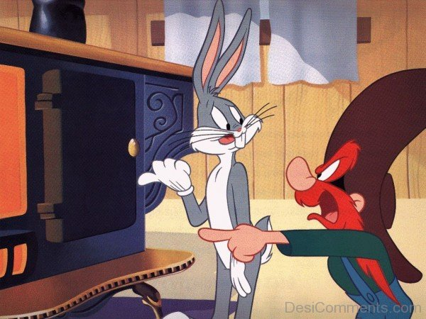 Bugs Bunny With Other Cartoon Character-DC070