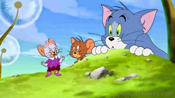 Tom and Jerry is an American animated series-DC101