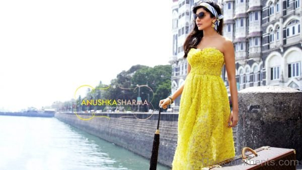 Anushka Sharma In Yellow Outfit-DC21
