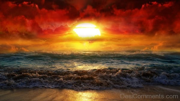 Background Of Sun And Sea