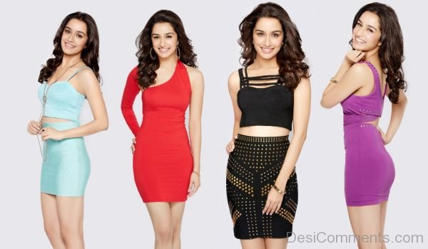 Shraddha Kapoor In Different Poses-DC11