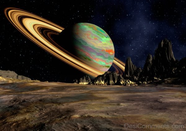 Wallpaper Planet, Saturn, Space, Ring-DC084