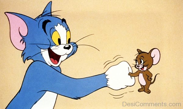 Tom and Jerry Shaking Hand-DC112