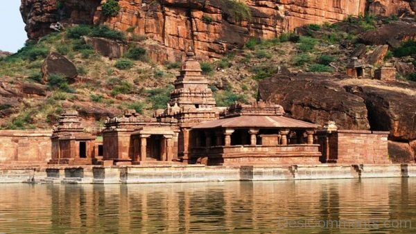 Amazing View Of Bhuthanatha Temple-DC022