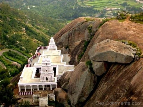 Amazing View Of Yoga Narasimha Temple-DC029