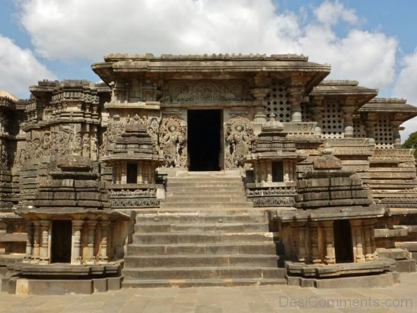 Back View Of Hoysaleswara Temple-DC042