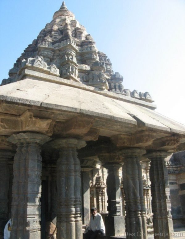 Front View Of Amrutesvara Temple-DC111