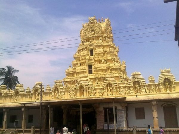 Front View Of Cheluvanarayana Swami Temple-DC116