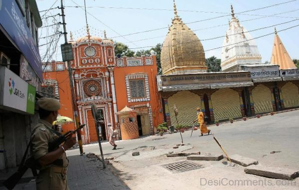 Front View Of Raghunath Temple-DC126