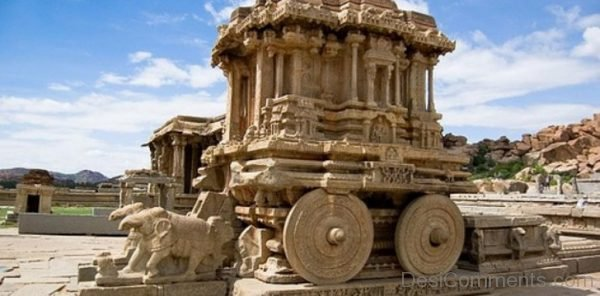 Incredible Sculpture At Aihole-DC192