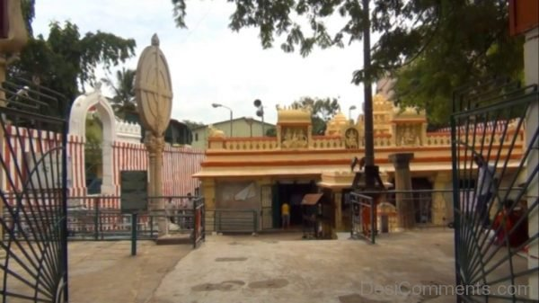 Main Gate Of Gavi Gangadhareshwara Temple-DC226
