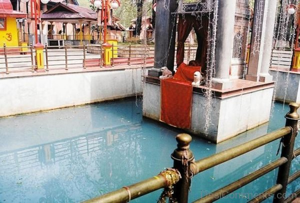 Side View Of Kheer Bhawani Temple-DC306