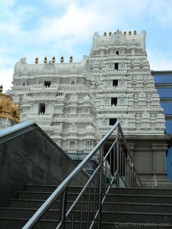 Stairs To ISKCON Temple-DC327