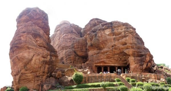 Wonderful Image Of Badami Cave-DC371
