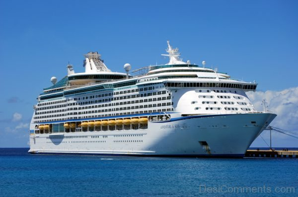 Adventure of the Seas Cruise Ship Wallpaper