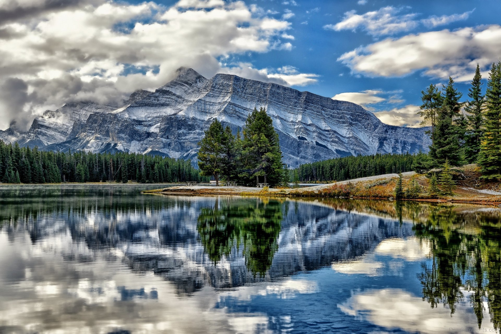 Lake wallpapers for Fishing in banff