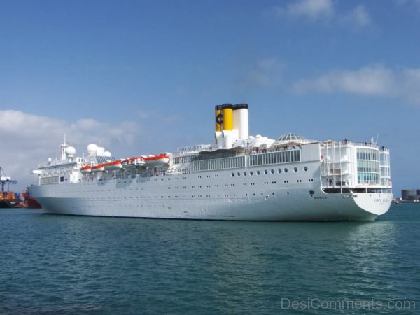 Costa Allegra Cruise Ship