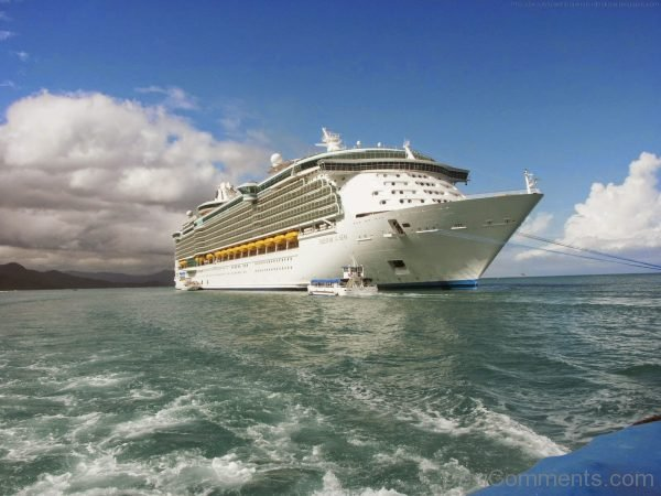 Picture Of Adventure of the Seas Cruise Ship