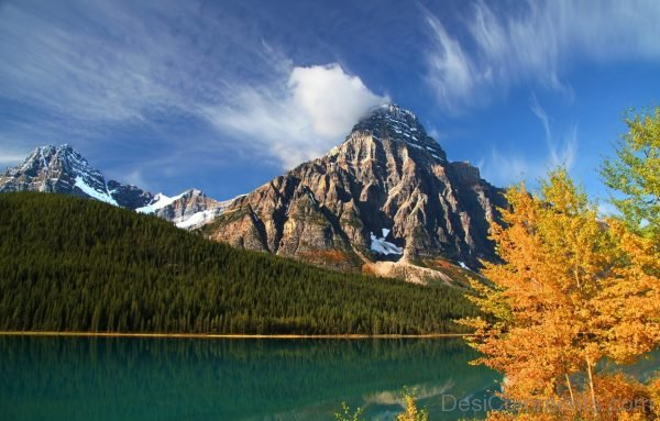Wallpaper Of Banff Park Alberta Canada