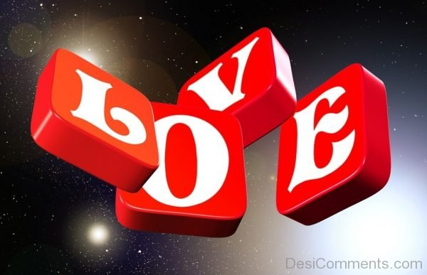 3D Wallapaper Of Love