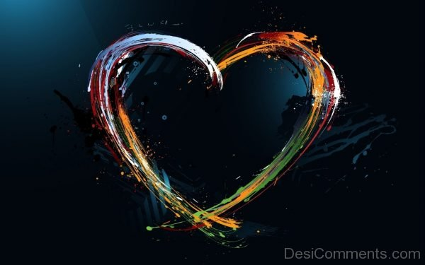 Abstract Design Heart