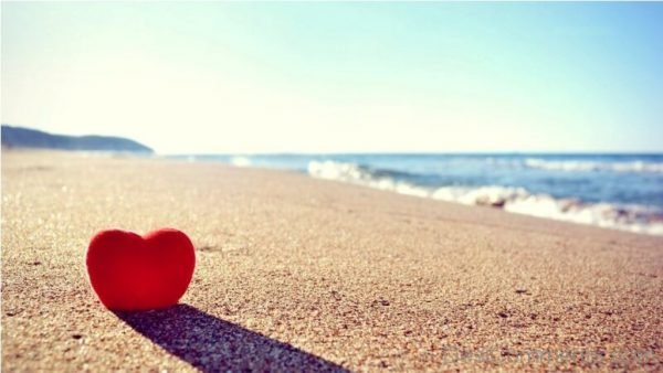 Heart And Beach