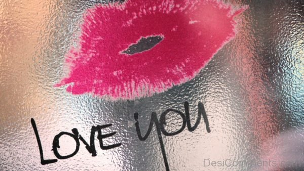 Love Wallpaper With Pink Lips