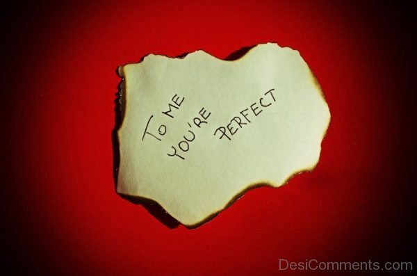 To Me You Are Prefect