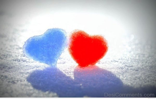Two Ice Hearts